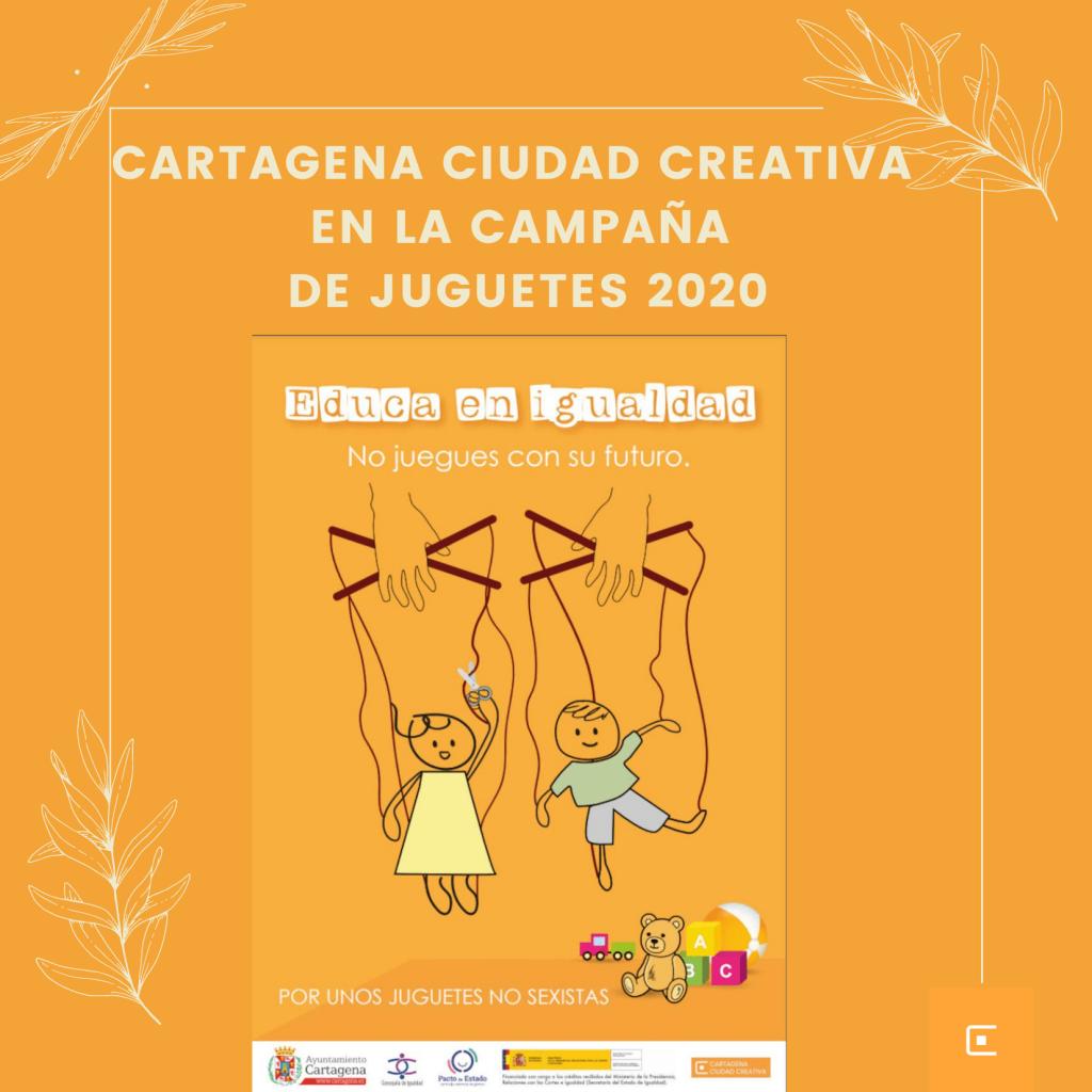 Cartagena Ciudad Creativa en la campaña de juguetes 2020